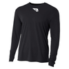 B45 Baseball Apparel Small / Black Relaxed Long Sleeve Performance T-Shirt
