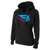 B45 Baseball Apparel Small / Black Women's Hoodie