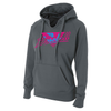 B45 Baseball Apparel Small / Graphite Women's Hoodie