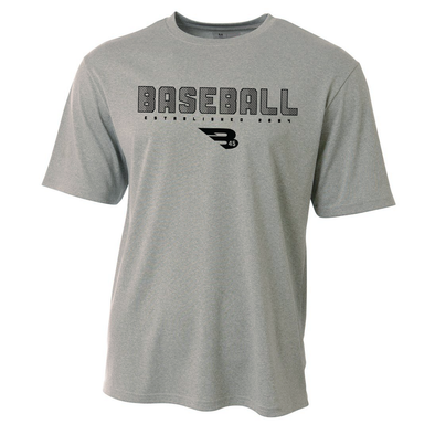 B45 Baseball Canada Apparel Small Performance T-Shirt