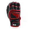 B45 Baseball Batting Gloves Small / Black/Red Midnight Series Batting Gloves