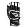 B45 Baseball Batting Gloves Small / Black/White Midnight Series Batting Gloves