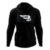 B45 Baseball Canada Apparel Small / Black Fleece Hoodie
