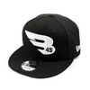 New Era Cap Headwear Small-Medium Black 9FIFTY New Era Snapback Hat