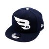 New Era Cap Headwear Small-Medium Navy 9FIFTY New Era Snapback Hat