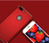 3in1 Apple iPhone 7 Rot Hülle