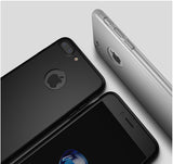 360 Apple iPhone 8 360 Schwarze Hülle