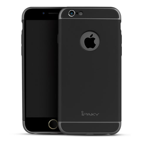 Apple iPhone 6/6S Schwarz Hülle 3in1