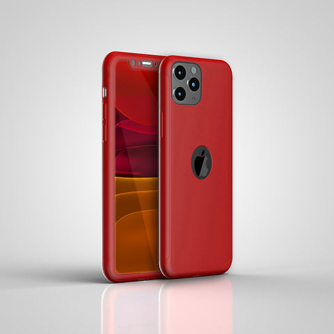 Apple iPhone 11 Pro Max 360 Rote Hülle