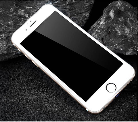 4D iPhone 7 Full Screen Protection White