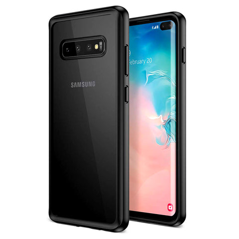 Samsung Galaxy S10 Plus transparente Hülle - Black
