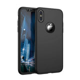 Apple iPhone X 360 Black Hülle