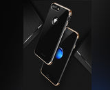 3in1 Apple iPhone 7 Schwarz Hülle