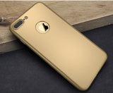 360 Apple iPhone 7 360 goldene Hülle