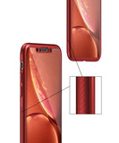 Apple iPhone XS Max 360 Rote Hülle