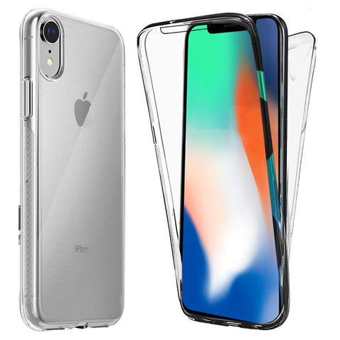 360 protection iPhone XR transparent