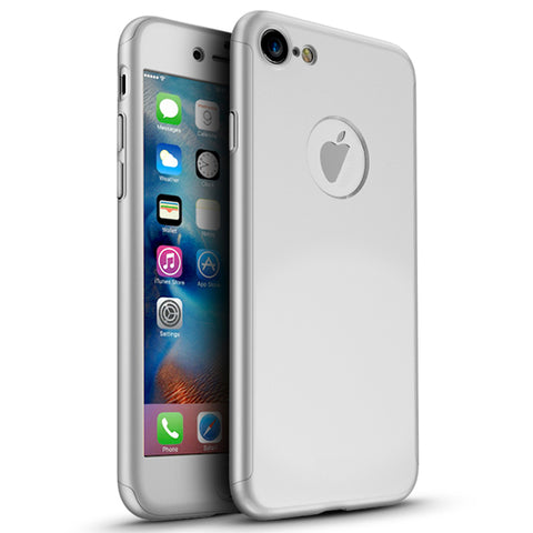 360 Apple iPhone 7 360 Silber Hülle