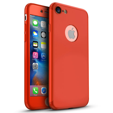Apple iPhone 7 360 rote Hülle