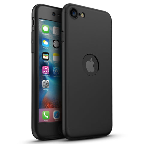 360 Apple iPhone SE 2020 Schwarze Hülle