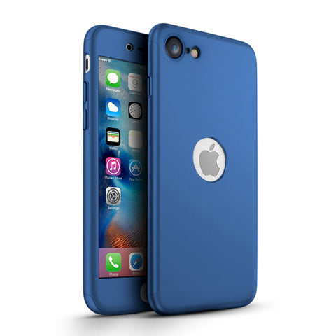 Apple iPhone SE 2020 360 blaue Hülle