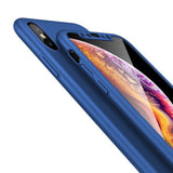 Apple iPhone 11 Pro Max 360 Blaue Hülle