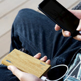 Wooden Power Bank 13 000 MAh