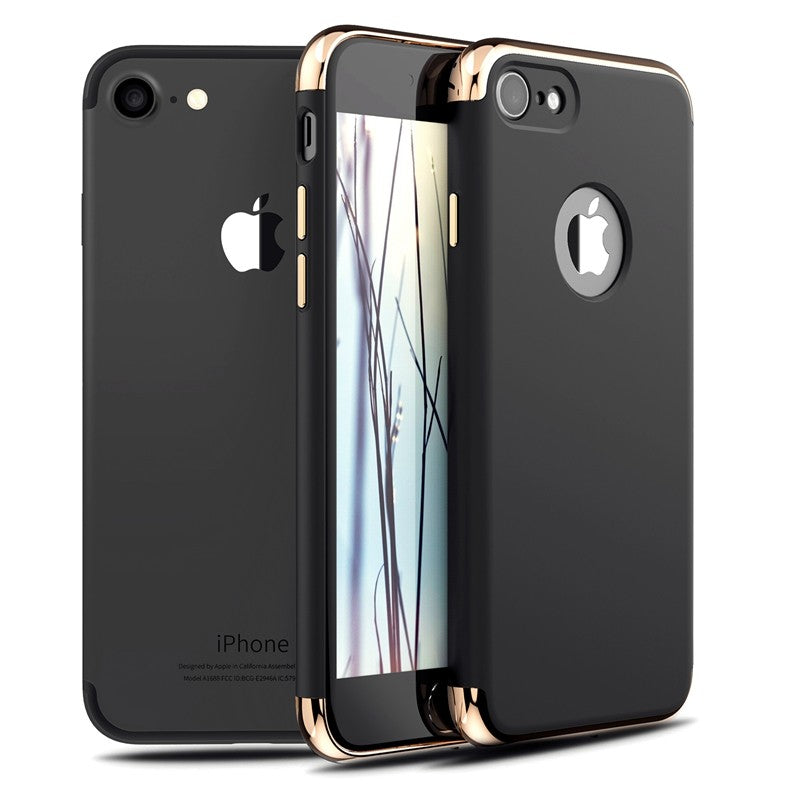 Apple Iphone 7 Schwarz Hülle Chargetiecom