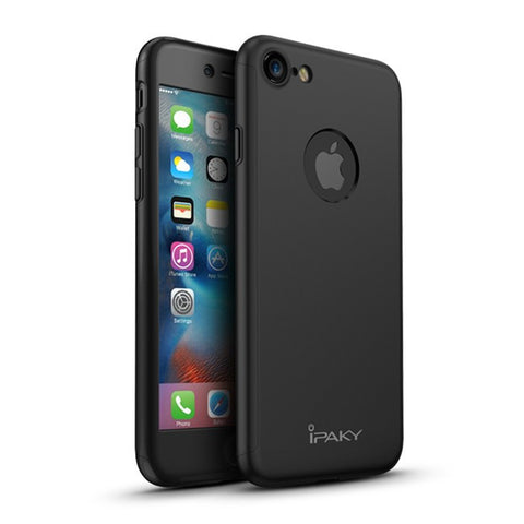 360 Apple iPhone 7 360 Schwarz Hülle