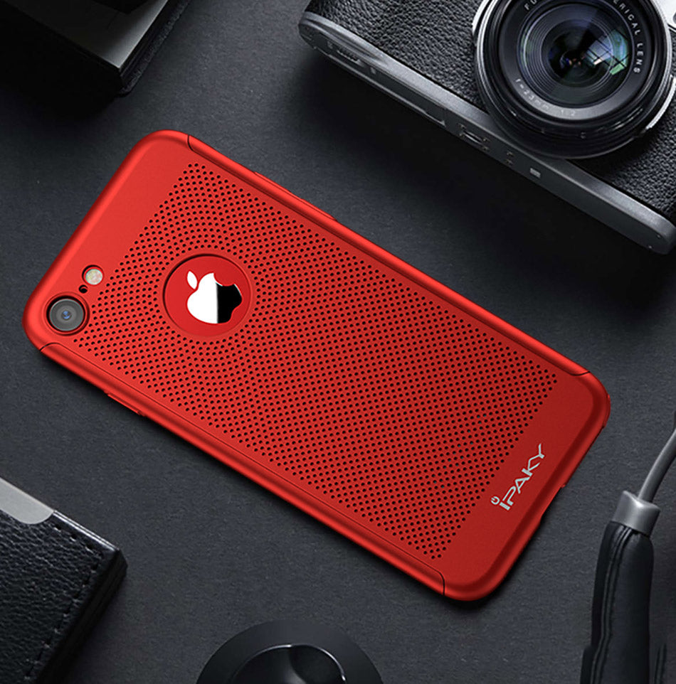 Red Apple IPhone 8 360 Heat Dissipation