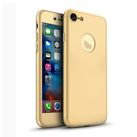 360 Apple iPhone 8 360 goldene Hülle