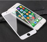 4D iPhone 8 Full Screen Protection White