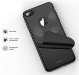 Apple iPhone 8 Plus 360 Schwarze Hülle