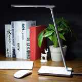 Wireless charger LED Touch desk Lamp Black