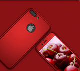 360 Apple iPhone 8 Plus 360 rote Hülle