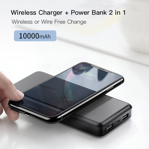 Qalcomm 3.0 Multifunktionale Power Bank – 10.000 mAh