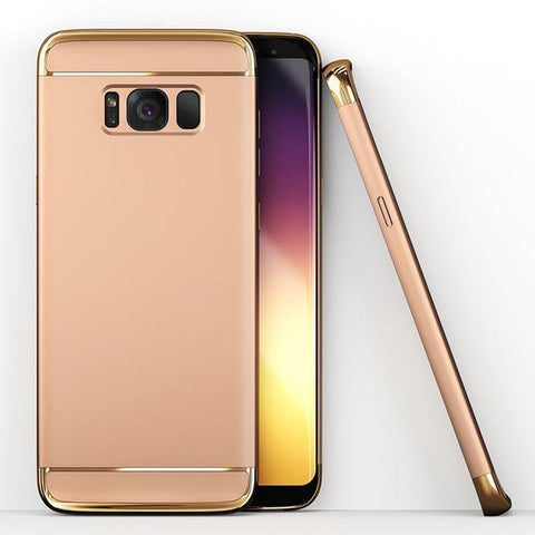 3in1 Samsung Galaxy S8 Plus Gold Hülle