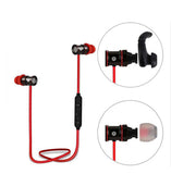 Sport Red ChargeSound Wireless Bluetooth 4.1 Earphones with Microphone