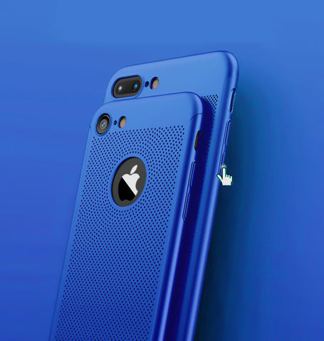 Blue Apple iPhone 8 360 Heat Dissipation