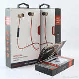 Black Sport ChargeSound Wireless Bluetooth 4.1 Earphones with Microphone