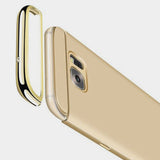 3in1 Samsung Galaxy S7 EDGE Gold Hülle