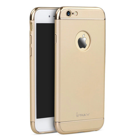 Apple iPhone 6/6S Gold Hülle 3in1