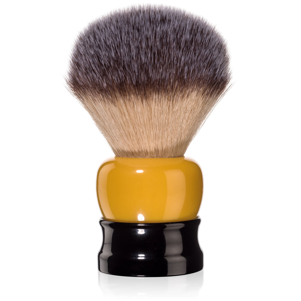 Fine Accoutrements Stout Shaving Brush - Orange/Black