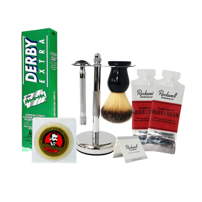 6pc SHAVING KIT WITH MERKUR 25C
