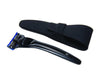 Bolin Webb X1 Giftset, Includes X1 Nero Black Razor and Razor Case, Cartridge Razors