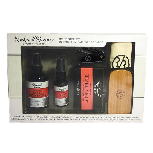 Rockwell Beard Grooming Box Set,