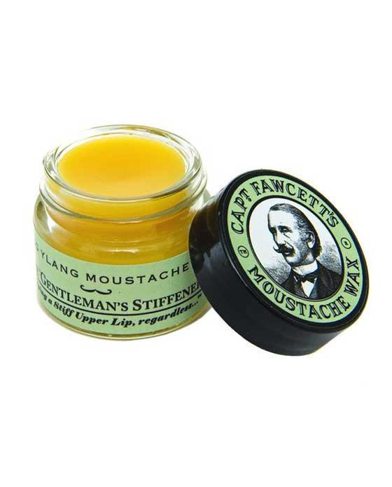 Captain Fawcett's Ylang Ylang Scents Moustache Wax (15ml/0.5oz), Mustache Wax