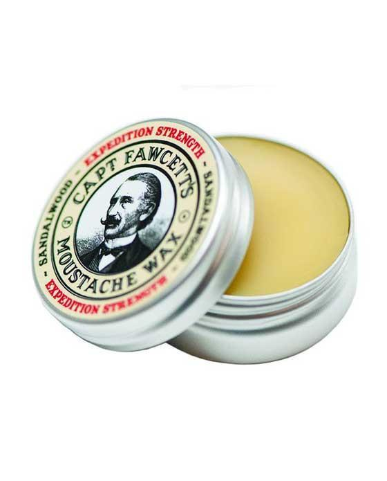 Captain Fawcett's Moustache Wax Expedition Strength (15ml/0.5oz), Mustache Wax