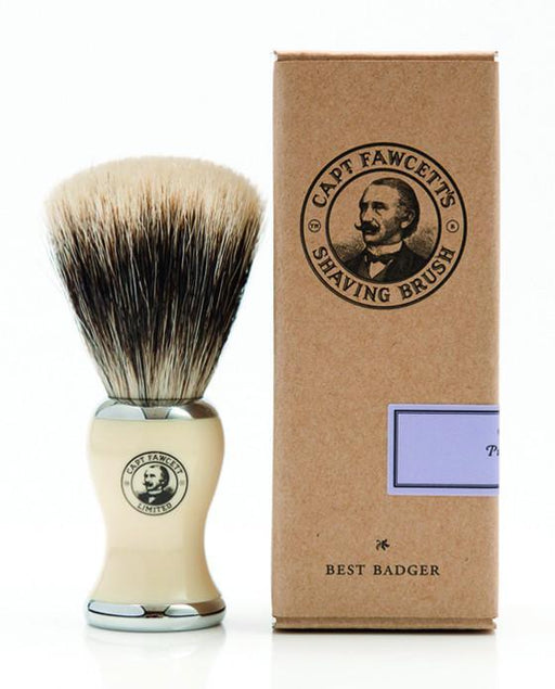 Captain Fawcett's Best Badger Shaving Brush, Shaving Brushes
