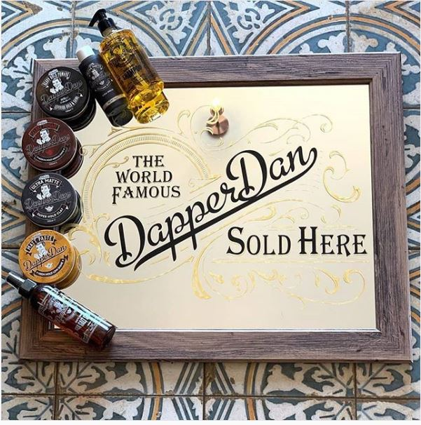DD-MI01 Dapper Dan Branded Mirror,