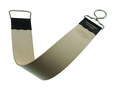 Dovo Hanging Razor Strop For Sharpening, Cowhide Leather, Finger Loop, Strops & Honing Stones